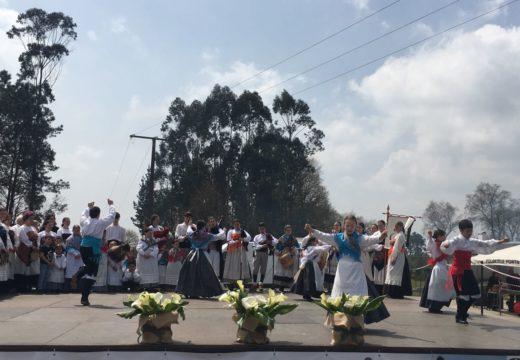 Gran xantar popular e II Encontro Folclórico das Herdanzas de Poulo
