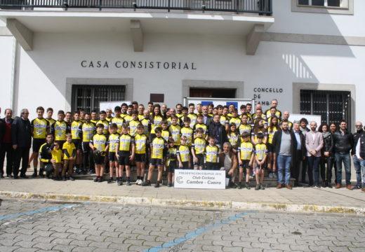 O Club Ciclista Cambre presentou aos seus equipos da campaña 2018