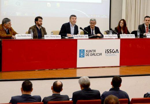 A Consellería de Economía, Emprego e industria analiza na Coruña a seguridade e saúde laboral do traballo con drons