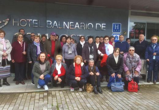 Trinta veciños e veciñas participaron no Mes da Saúde do Concello de Frades, con 4 saídas ao Hotel Balneario Compostela (Brión)