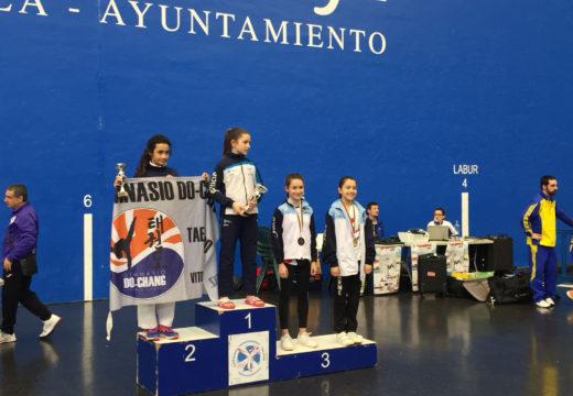 Os noieses Ignacio Remuiñán e Vanesa Roo, medallas de ouro no XVI Open Garriko Arrigorriaga de taekwondo