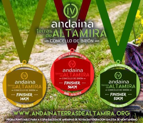 Últimos días de inscrición a prezo reducido na IV Andaina Terras de Altamira, que se marca o obxectivo de reunir a 450 persoas