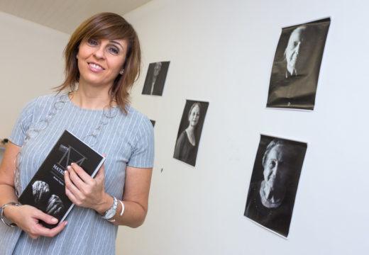Montse Fajardo volve a San Sadurniño para presentar as súas dúas últimas obras
