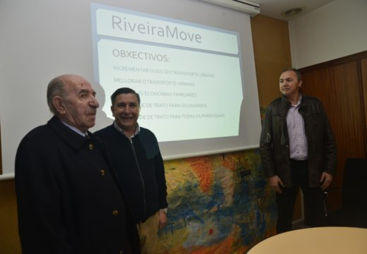 O concello impulsa o plan de transporte subvencionado 'Riveira Move' polo que todas as viaxes regulares en autobús custarán 1€