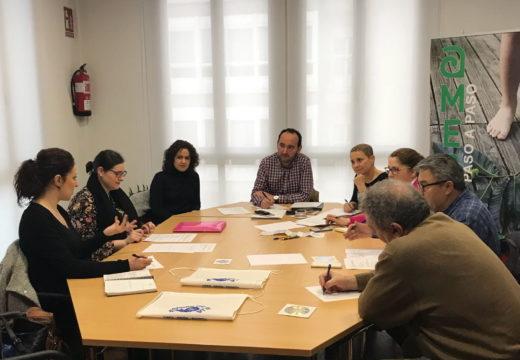 """Ames, Brión, Padrón e Santiago traballan na organización de novas actividades para promover a nova ruta """"As Pegadas de Rosalía"""""""