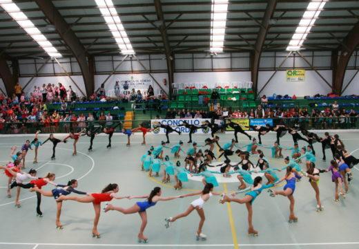 Máis de 350 nenos e nenas participan na clausura dos cursos municipais de ballet, patinaxe artística e ximnasia rítmica