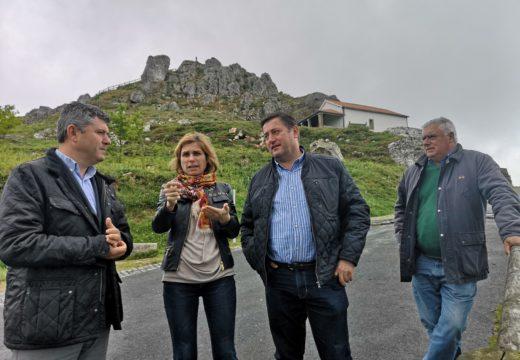 A Xunta enxalza as primeiras melloras paisaxísticas realizadas no Pico Sacro, na vía da prata, grazas aos 'Premios Galicia Parabéns'