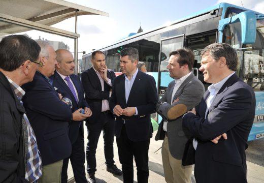 A Xunta puxo en marcha a cuarta e última fase do Plan de entrada dos autobuses interurbanos ao centro da Coruña que foi posible grazas ao acordo entre 17 concellos