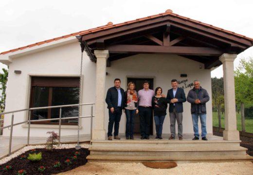 Inaugurado o primeiro albergue para pelegríns do Concello de Boqueixón