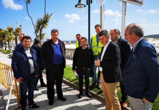 A Xunta inviste 75.000 euros na estrada AC-429 ao seu paso polo concello de Laxe, que asumirá a titularidade e xestión desta vía
