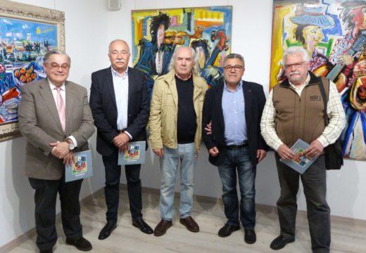 A sala de exposicións de Brión acolle ata o 8 de xuño unha mostra de 19 obras dun dos grandes da pintura galega: José María Barreiro