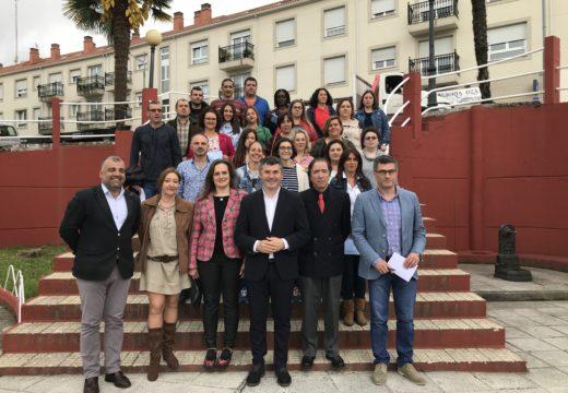 Os 20 alumnos do obradoiro de emprego de Oza-Cesuras e Coirós formáronse e atención socio-sanitaria e xardinería