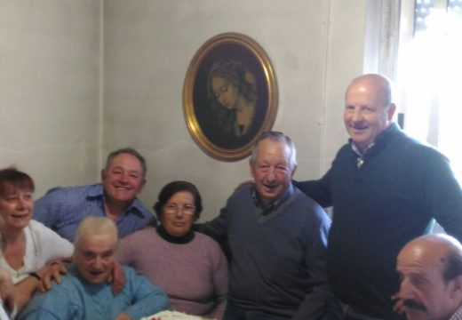 A veciña de Circes (Touro) Elvira Souto Salmonte celebra o seu 101 cumpleanos