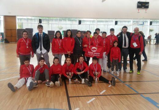 O Boudsport copa o podio do Campionato Provincial de Combate en Idade Escolar
