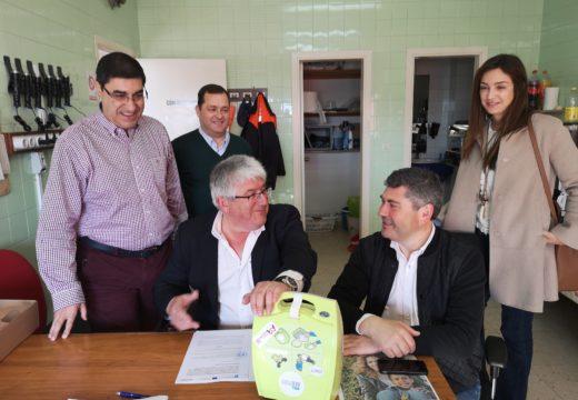 20 voluntarios de cinco agrupacións de Protección Civil da provincia da Coruña seguiron en Muxía un curso de segundo nivel de accidentes na estrada