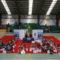 Máis dun cento de nenas participan na cuarta exhibición de ximnasia rítmica