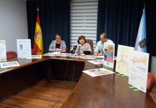 Gala lírica, obradoiros infantís, maxia, música e teatro conforman o programa especial das Letras Galegas no Concello de Lousame