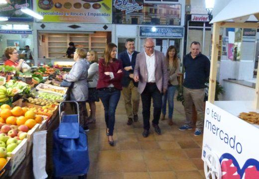 A Xunta destaca a importancia económica e social das prazas de abastos galegas na conmemoración do Día do Mercado
