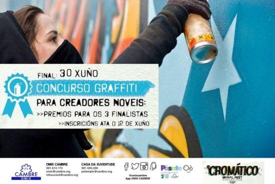 """Cambre quere """"educar"""" aos máis novos sobre o graffiti"""