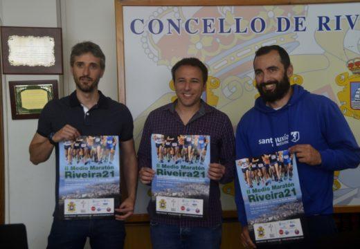 Regresa o II Medio Maratón de Riveira cunha proba de 21 kilómetros que sairá de Aguiño