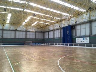 A Xunta de galicia vén de rematar a obra de substitución e reparación da cuberta e do pavimento do pavillón do Complexo Deportivo Agra I