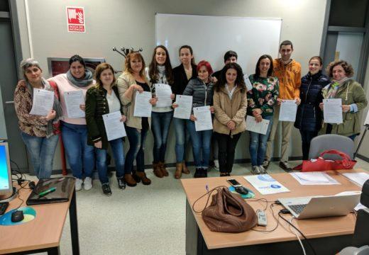 Susana García clausura o curso Xestión Integrada de Recursos Humanos