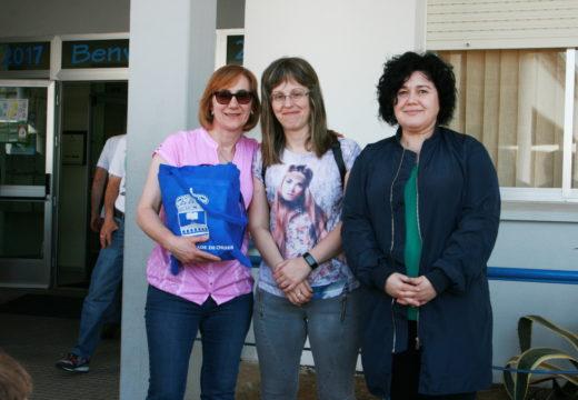 Última entrega do lote de libros do concurso 'Rosalía verso a verso'
