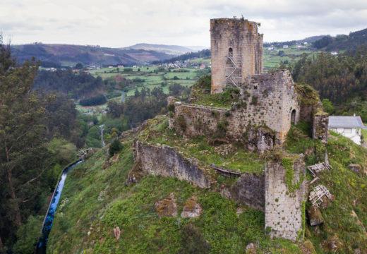 O Concello de San Sadurniño implica á Deputación e á Xunta na posta en valor do castelo de Naraío