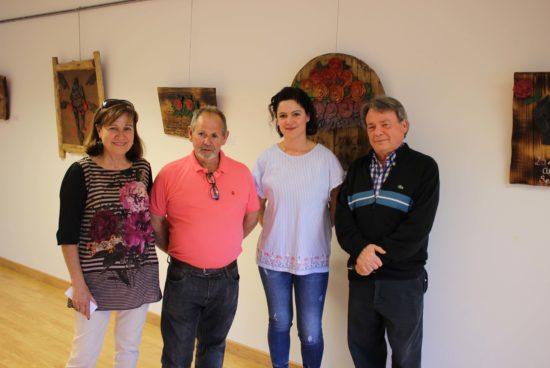 A Casa da Cultura de Lousame acolle unha exposición de 29 obras de Che Tembra