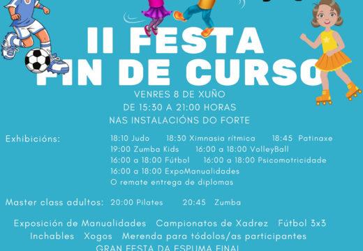 O Concello de Boqueixón celebra este venres a II Festa de Fin de Curso das Actividades Deportivas