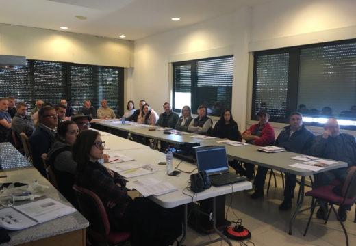 Os Concellos de Frades e Mesía organizaron conxuntamente un curso de aplicador / manipulador de produtos fitosanitarios