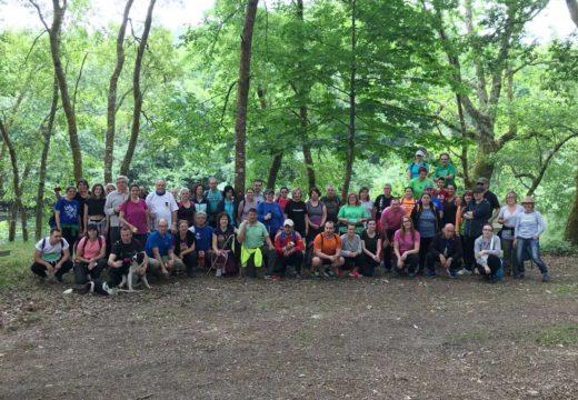 Éxito da xornada do 'Goza do Ulla' en Boqueixón con preto de 70 participantes