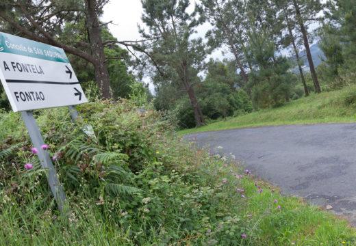 San Sadurniño licita en 76.500 euros as obras do Plan de mellora de camiños municipais