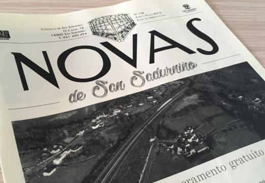 """San Sadurniño dálle un novo aire ao boletín informativo """"Novas"""""""