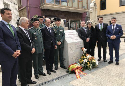 Ovidio Rodeiro participou en Malpica no acto homenaxe a José Pardines Arcay primeira vítima mortal de ETA