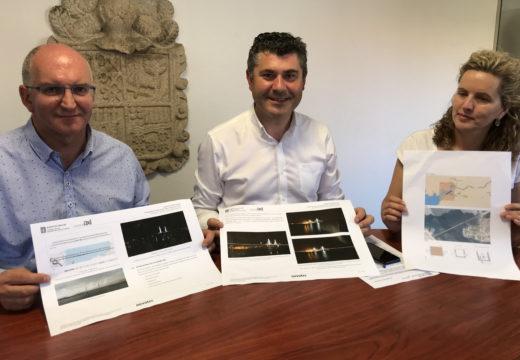 A Xunta destina 326.000 euros para completar a iluminación da Ponte de Noia e potenciar e súa estrutura e a súa visibilidade