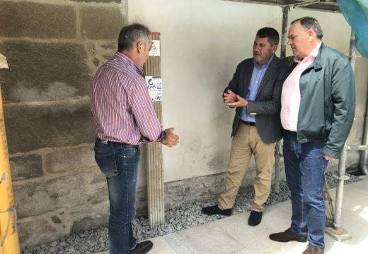 A Xunta ultima as obras de restauración do templo renacentista de Caión, na Laracha, cun investimento de máis de 146.000 euros
