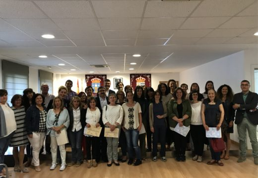 Os 20 alumnos do Obradoiro de Emprego de Miño, Paderne e Pontedeume formáronse nos sectores de xeriatría e dependencia