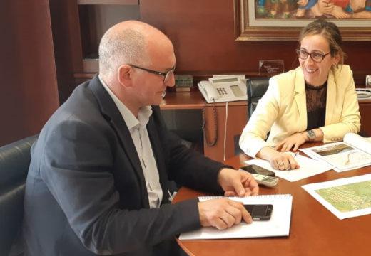 Ethel Vázquez confirma que o proxecto de humanización do barrio de San Bernardo sairá a licitación nun mes por 280.000 euros