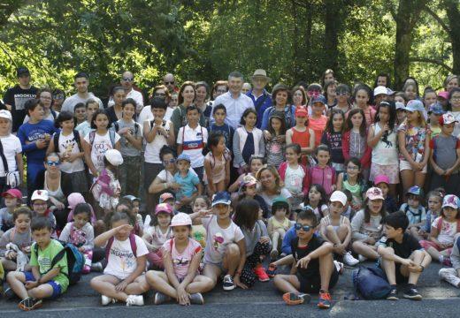 Mais de 2.300 visitantes participaron no 2018 no programa de educación ambiental do Parque Natural das Fragas do Eume