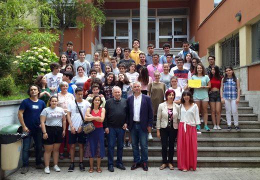 """Estudantes de 1º de Bacharelato do IES de Brión gañan o primeiro premio no concurso """"Sensores 2018"""""""