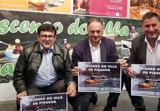 Os Concellos de Boqueixón, Vedra e Vila de Cruces presentan o Descenso do Ulla en Piragua na Feira Abanca Semana Verde