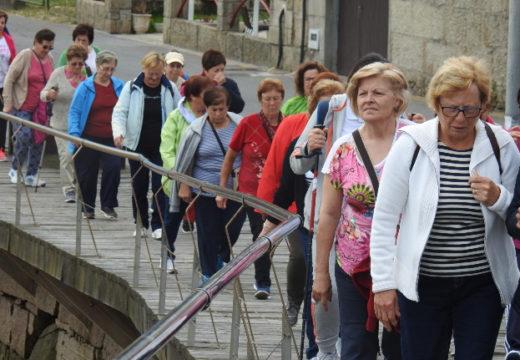 Medio cento de persoas participaron na IV Andaina de Maiores do Concello de Boqueixón