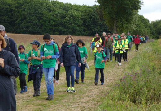 A Xunta participa na cuarta edición da marcha solidaria Camiño da Diversidade organizada pola Fundación Ingada