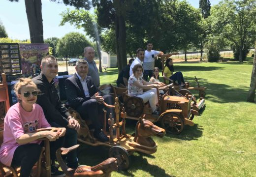 Ovidio Rodeiro salienta a achega da Xunta de Galicia ao Gran Premio de Carrilanas de Esteiro con 30 anos de traxectoria