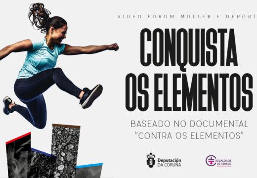 Ordes acollerá o vindeiro martes o video fórum 'Muller e Deporte. Conquista os elementos'