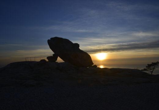 O Miradoiro de Pedra da Ra e o Centro Social de Oleiros, candidatos aos Premios Lledó Arquitectura Ibérica