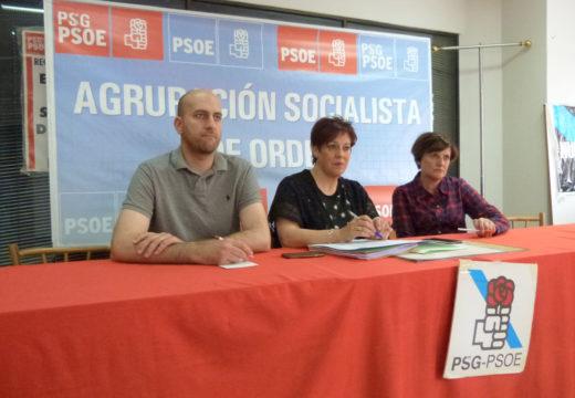 O PSOE insta á Xunta no Parlamento a arranxar as deficiencias estruturais do ximnasio do colexio Castelao de Ordes
