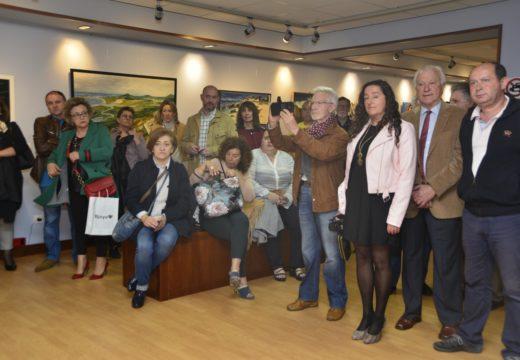 """O Centro Lustres Rivas exhibe a exposición """"Secuencias"""" a iniciativa da Asociación Galega de Arte e Cultura"""