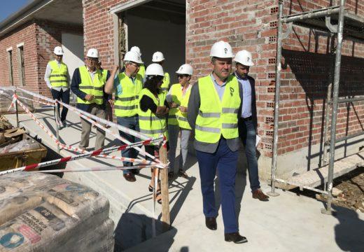 A Xunta executa as obras do novo edificio no IES Monte Neme para os novos ciclos formativos da familia de administración